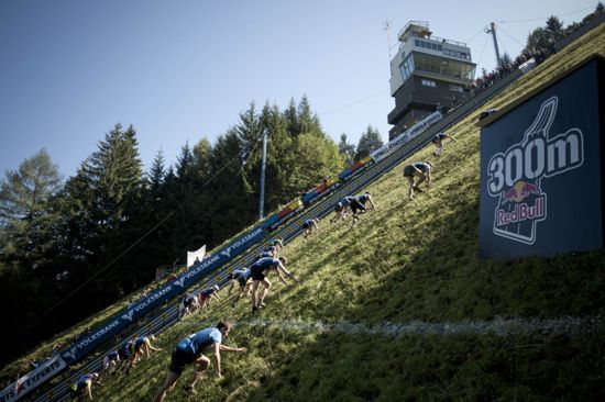 Red Bull Tough Race In Austria