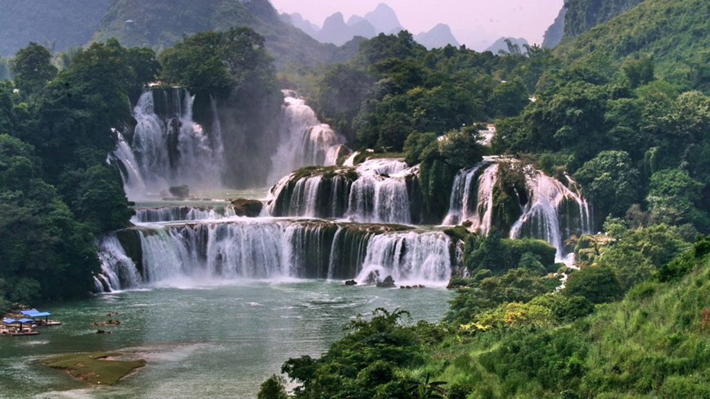 Ban Gioc Detian Falls Chinese Paradise Xcitefun Net