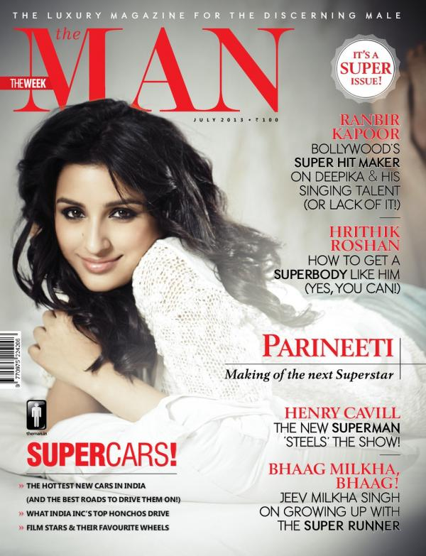 Parineeti Chopra The Man Magazine Cover