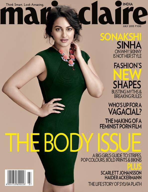 Sonakshi Sinha Marie Claire Cover