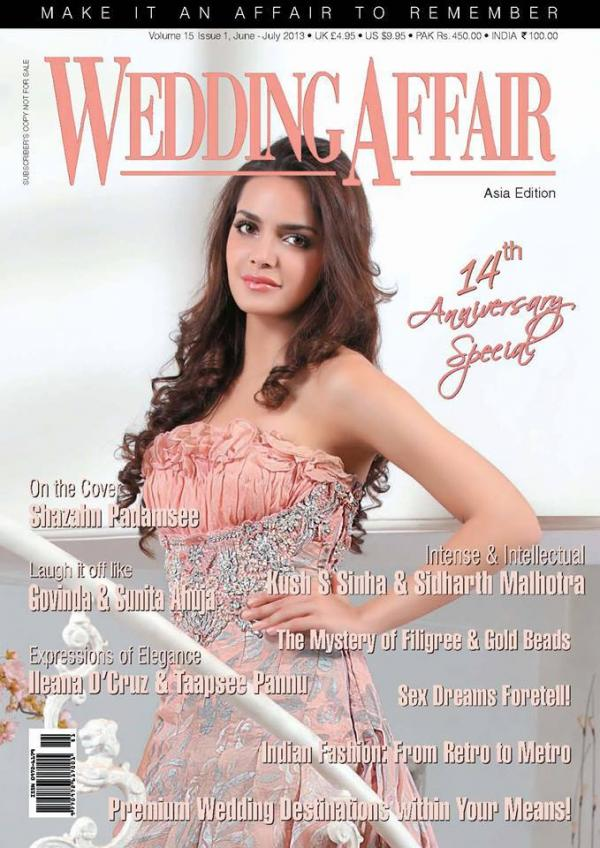 Shazahn Padamsee WEDDING AFFAIR