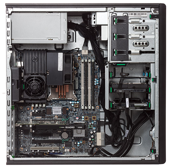HP Z420 Desktop Workstation  With 16 GB Of RAm