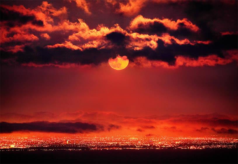 red moon nice - photo #10