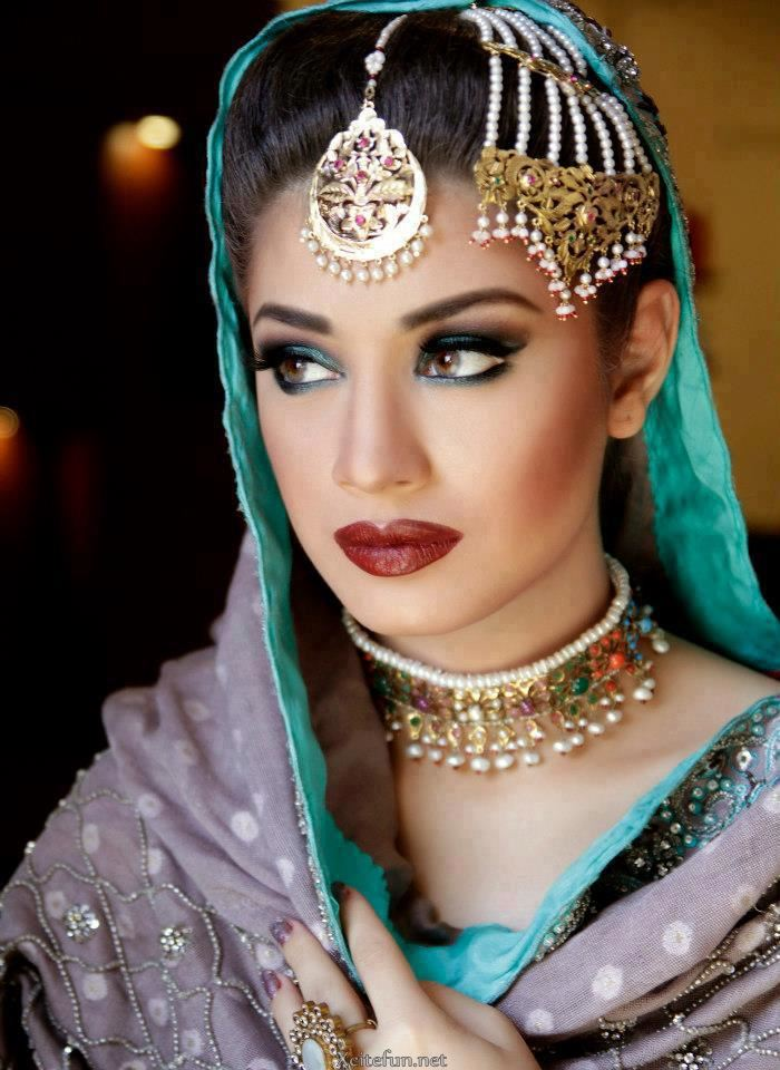 Sidra Batool Bridal Jewelry Make Over Photos