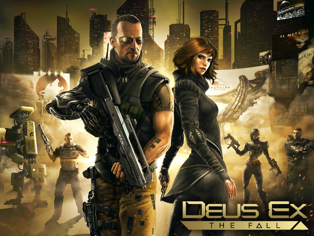 Deus Ex The Fall  Gaming Wallpapers N Trailer