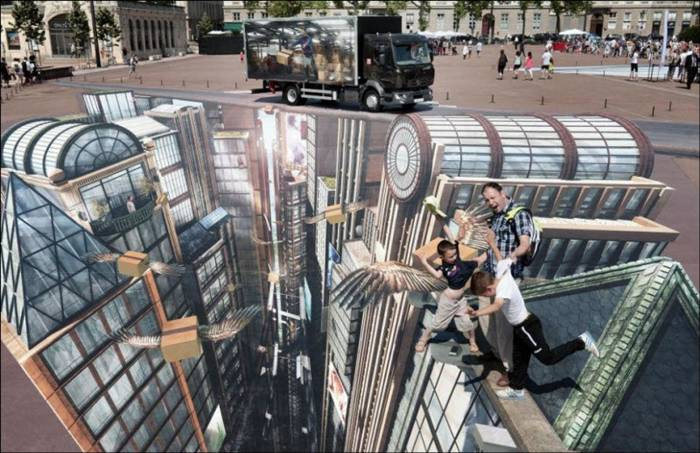 The World Largest 3D Street Art