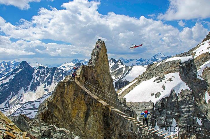 Sky Walking Mt Nimbus Canada
