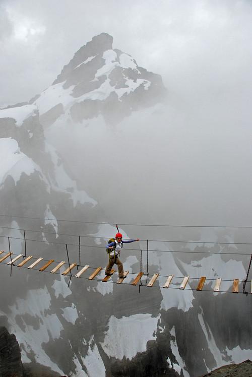 Sky Walking Mt Nimbus Canada - XciteFun.net