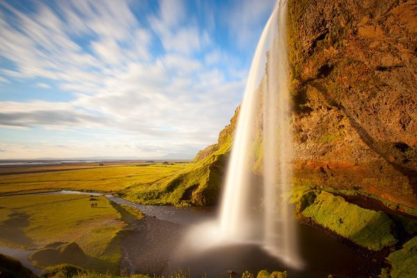 Seljalandsfoss Waterfalls Iceland  Images