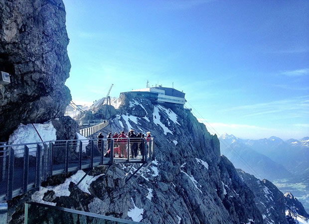 Dangerous Stairways of Austrian Cliff