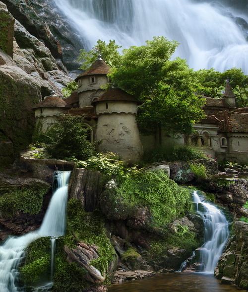 Waterfall Castles Caves In Poland