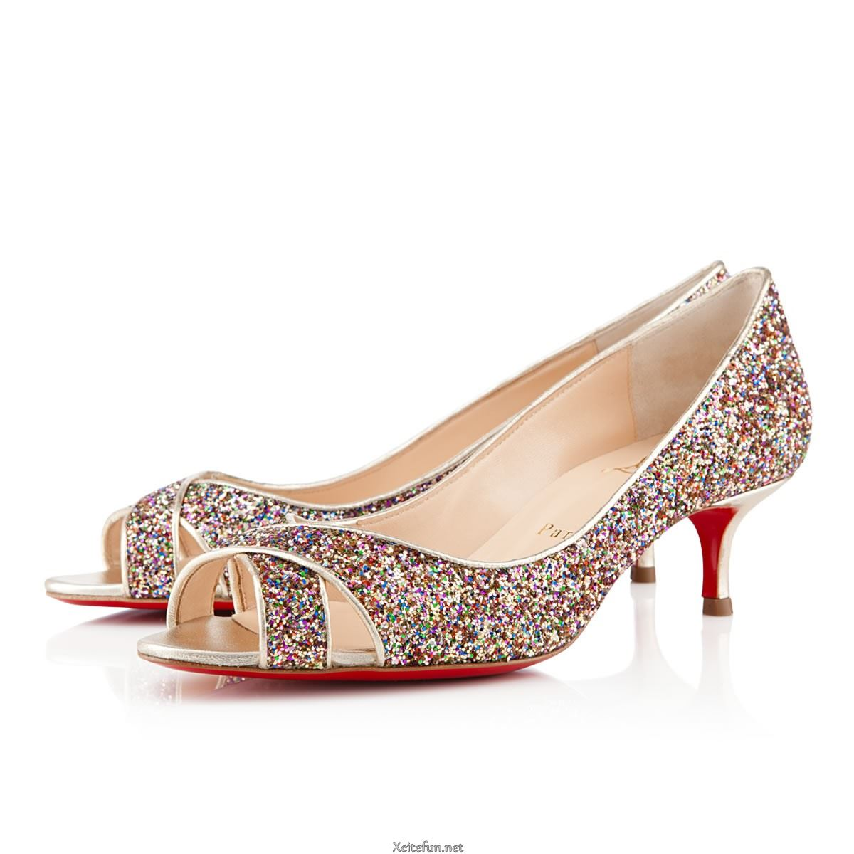 Bridal Shoes Usa: High Heel Christian Louboutin Footwear For Bridal