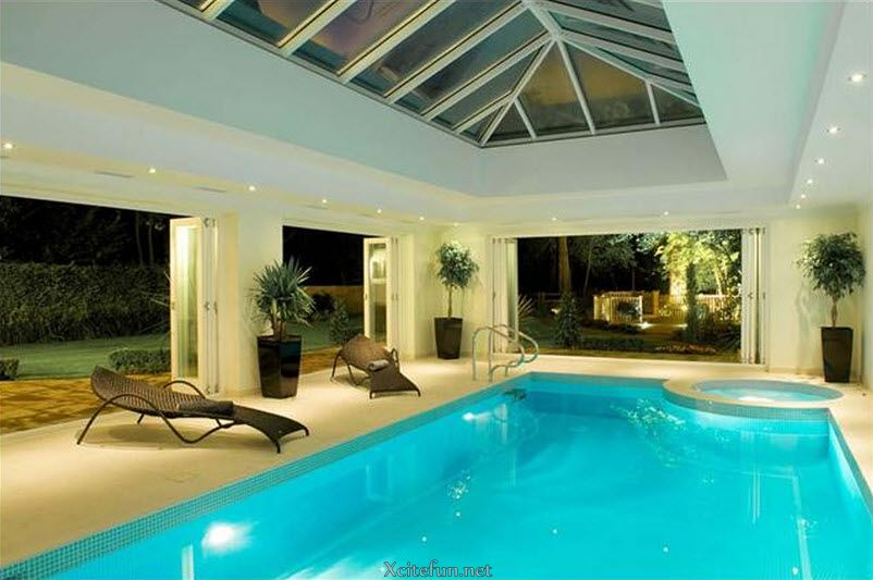 Residential Indoor Swimming Pools. Images Of Pools By Pool Tech ...