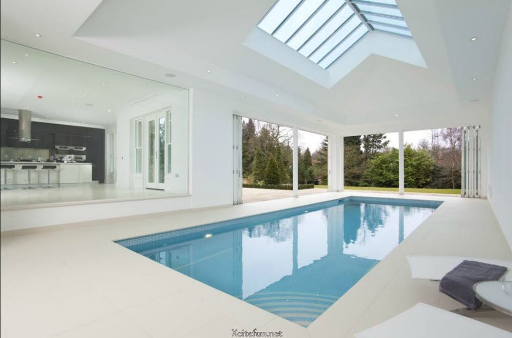 Residential indoor swimming pools type for Indoor swimming pool construction
