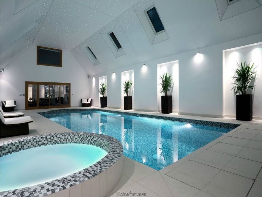 Cool And Stylish Residential Indoor Pools - XciteFun.net