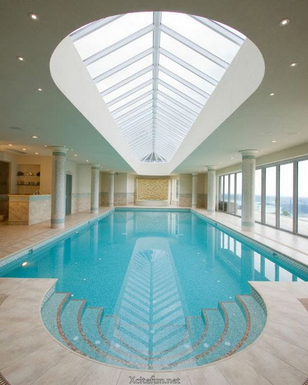 Cool And Stylish Residential Indoor Pools XciteFunnet