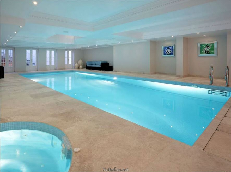Residential Indoor Pool Swimming Pools O Throughout Ideas