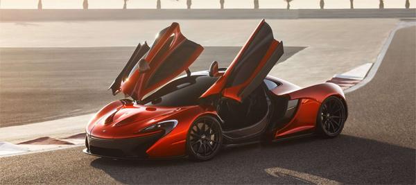 McLaren P1 Hybrid Supercar