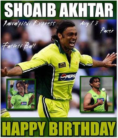 Happy Birthday Shoaib