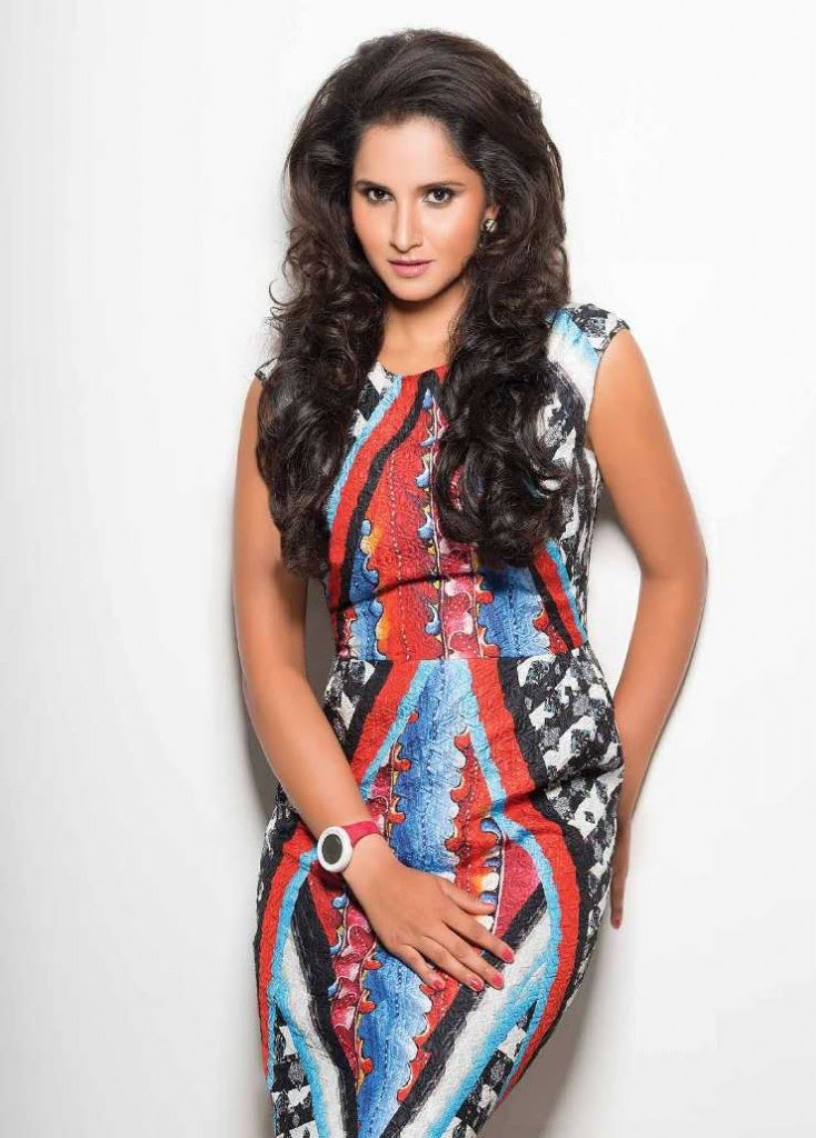 Sania Mirza Magazine Photo Shoot