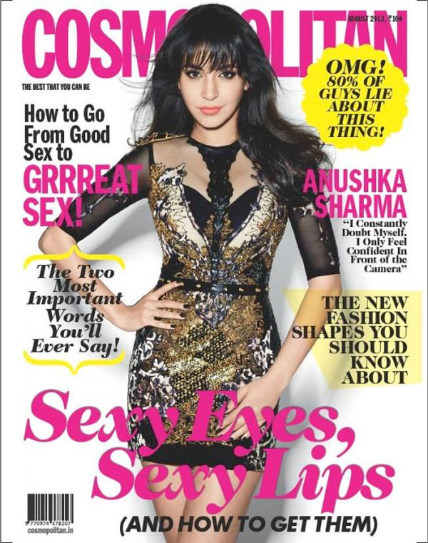 Anushka Sharma Cosmopolitan Cover Shoot