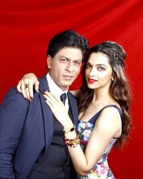 Shahrukh Khan with Deepika Padukone Photo Image Free Download