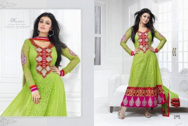 Ayesha Takias latest Photoshoot for an Indian Designer Wear
