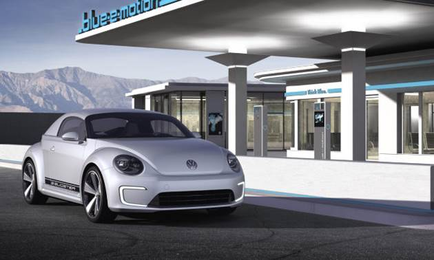 Volkswagen EBugster Electric Car