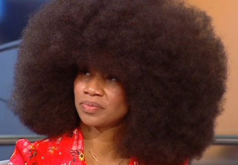 Worlds Biggest Afro Hairdo
