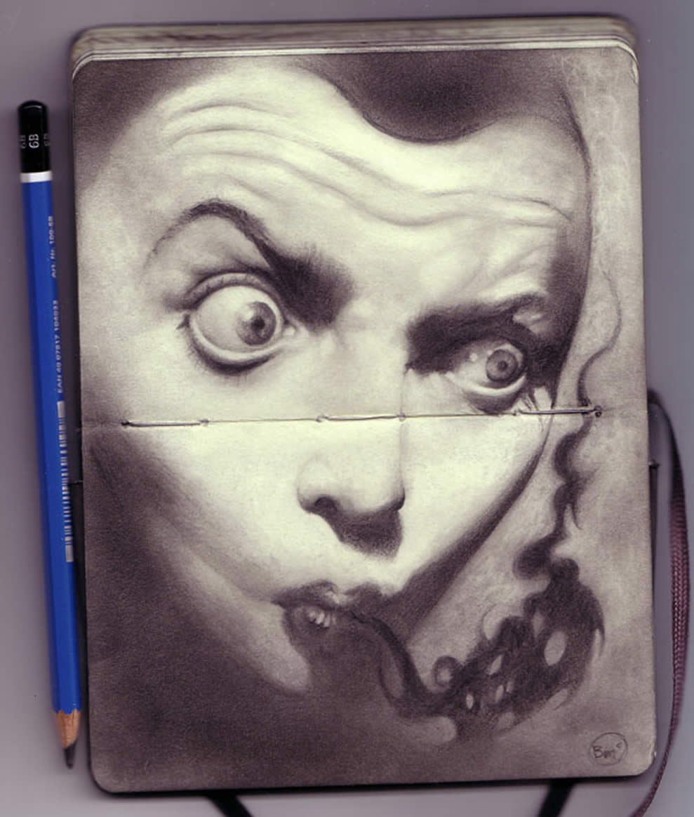Amazing Drawing Intoxication Sketchbook XciteFunnet