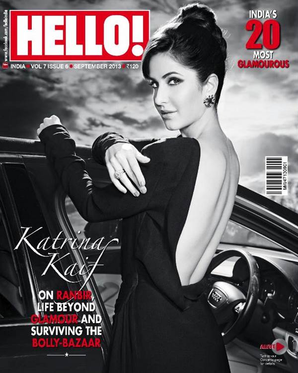 Katrina Kaif Hello Magazine Cover Shoot Wallpapers free download