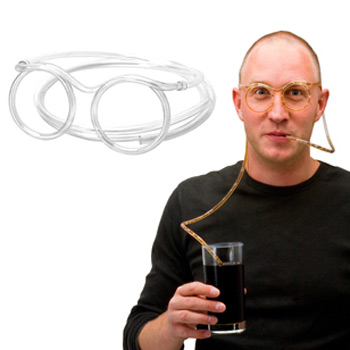 Drink Straw Goggles