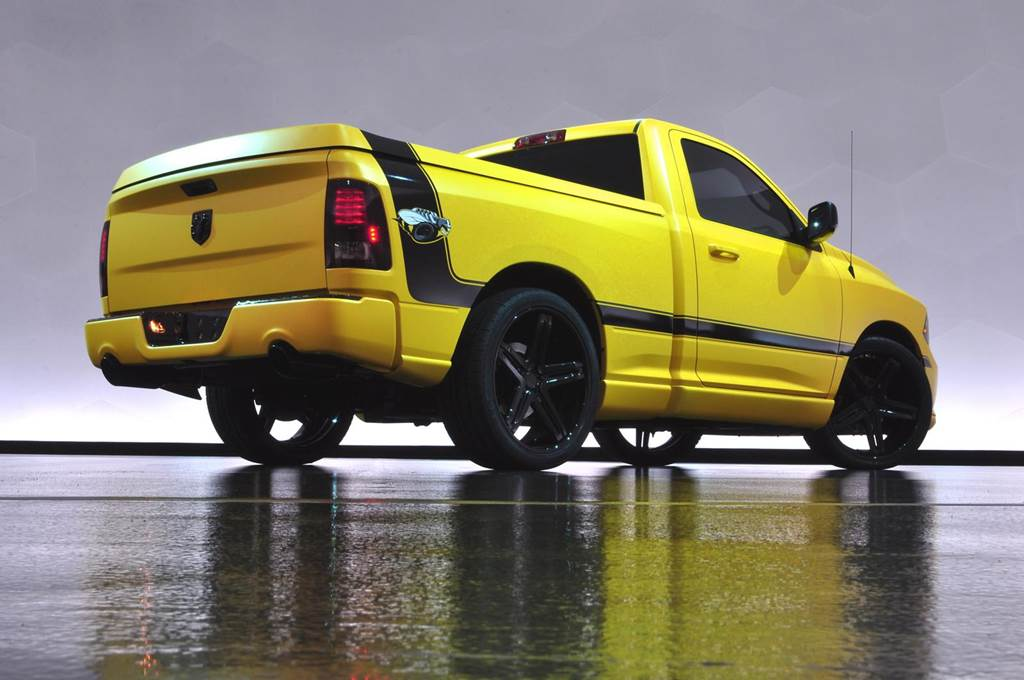 Ram 1500 Rumble Bee Truck Wallpapers