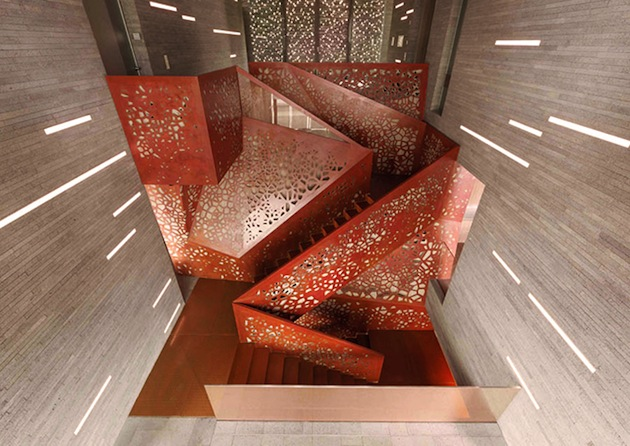 Geometrically Staircase