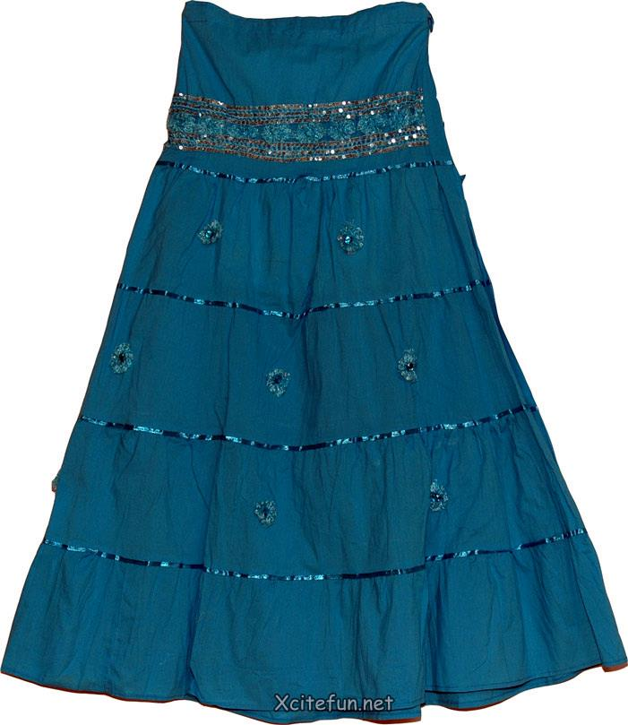 bridal and party wear sequin skirts for girls