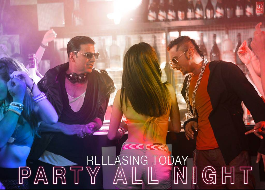 Party All Night Boss Movie Video Song - XciteFun net