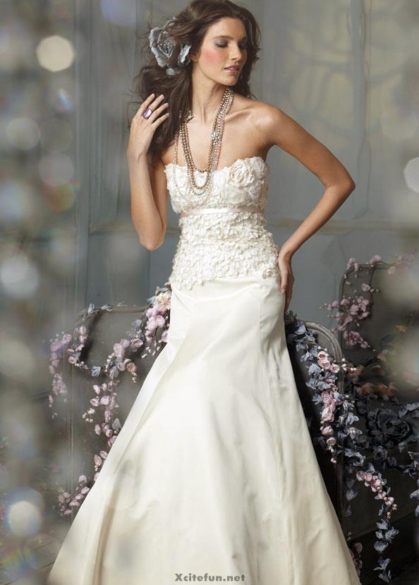 British Bridal White  Prom Dress