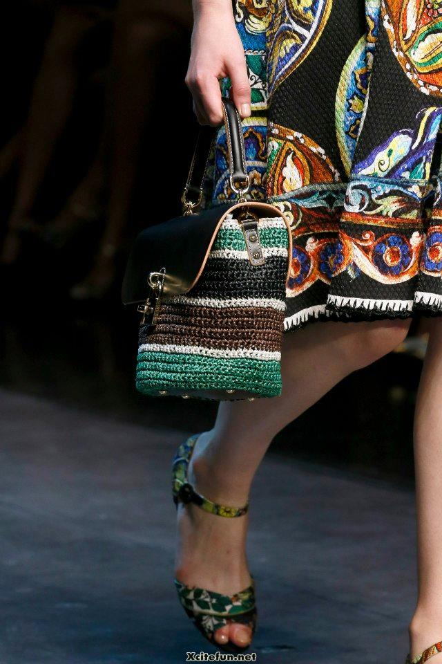 Colorful Handbags by DOLCE amp GABBANA