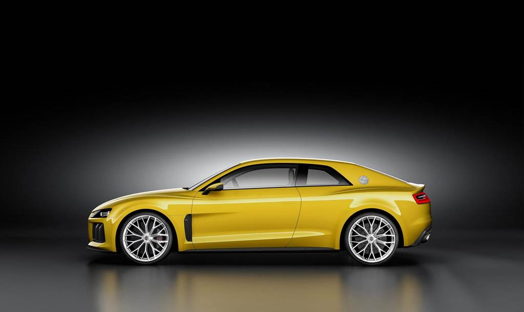 Audi Sport Quattro Powerful Concept Car Wallpapers