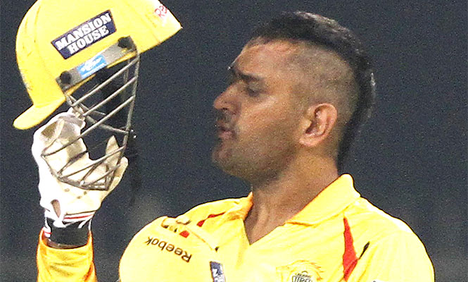 HD wallpapers ms dhoni new hairstyle image