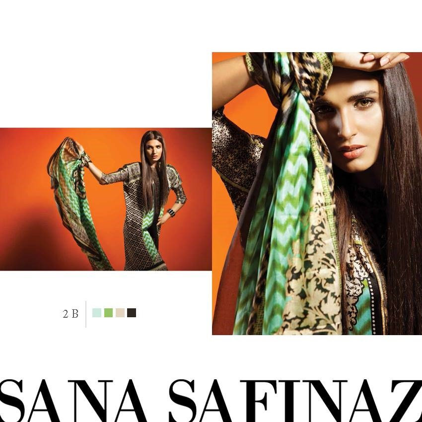 Sana Safinaz Eid Wear Pure Silk October Collection