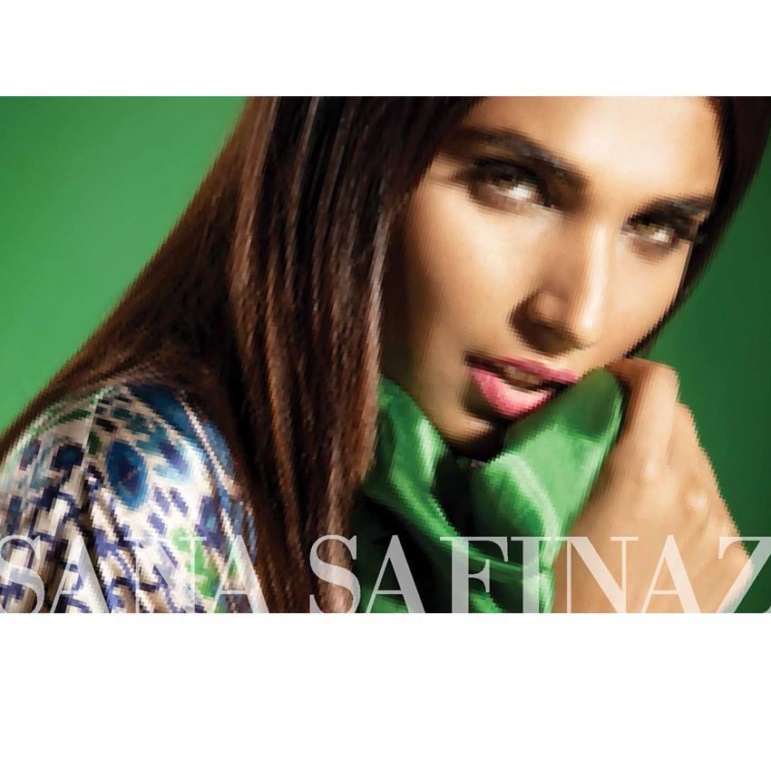 Sana Safinaz Eid Wear Pure Silk October Collection