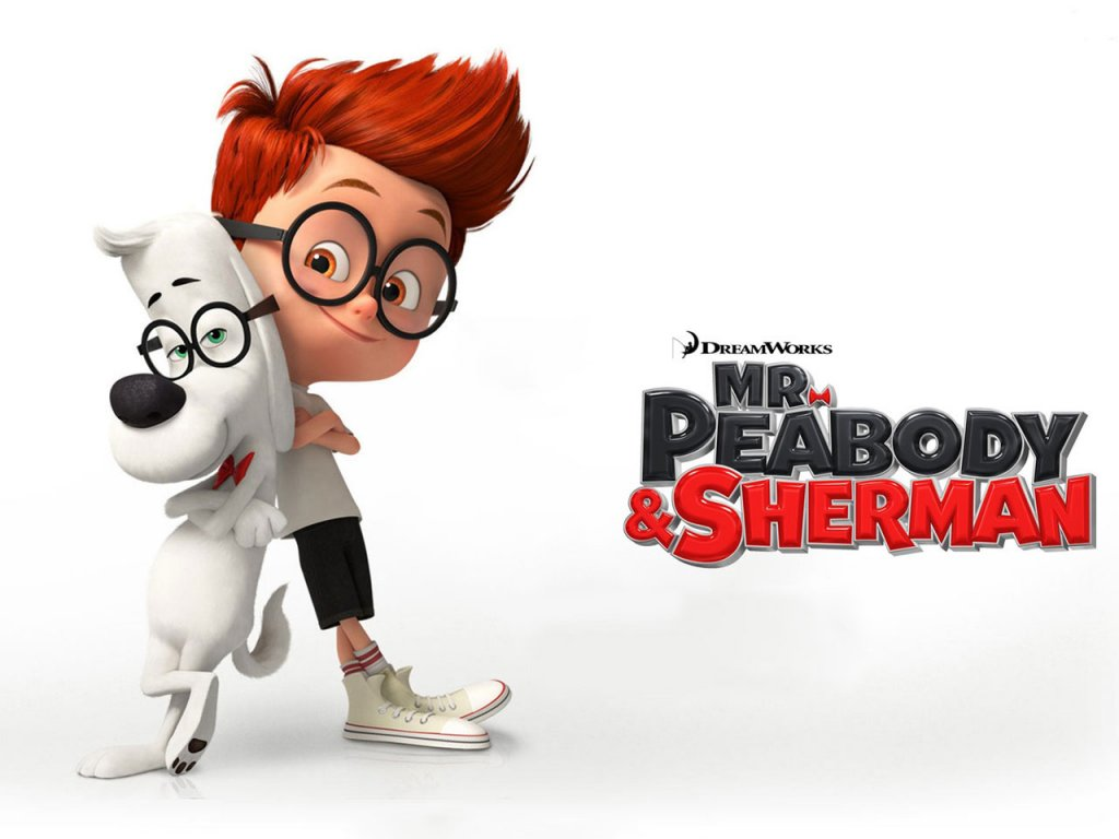 mr peabody and sherman movie poster xcitefunnet