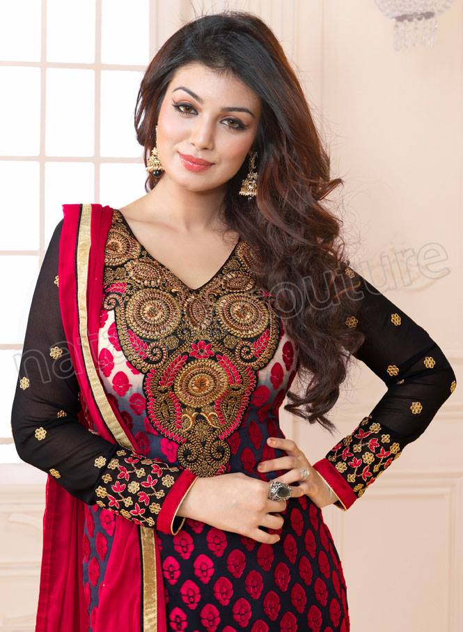 Ayesha Takia Anarkali Collection By Natasha Couture