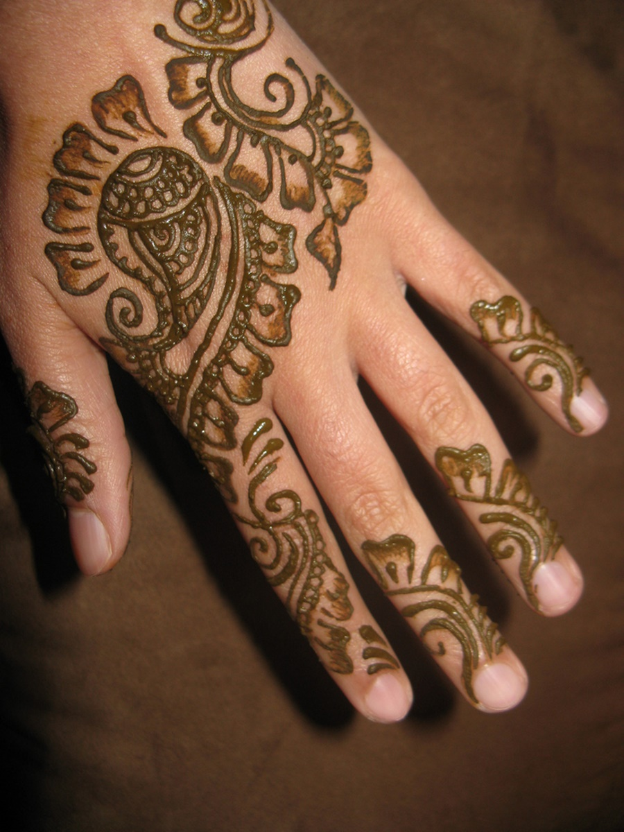 Mehndi Designs For Hands Eid : Hand eid mehndi design for girls xcitefun