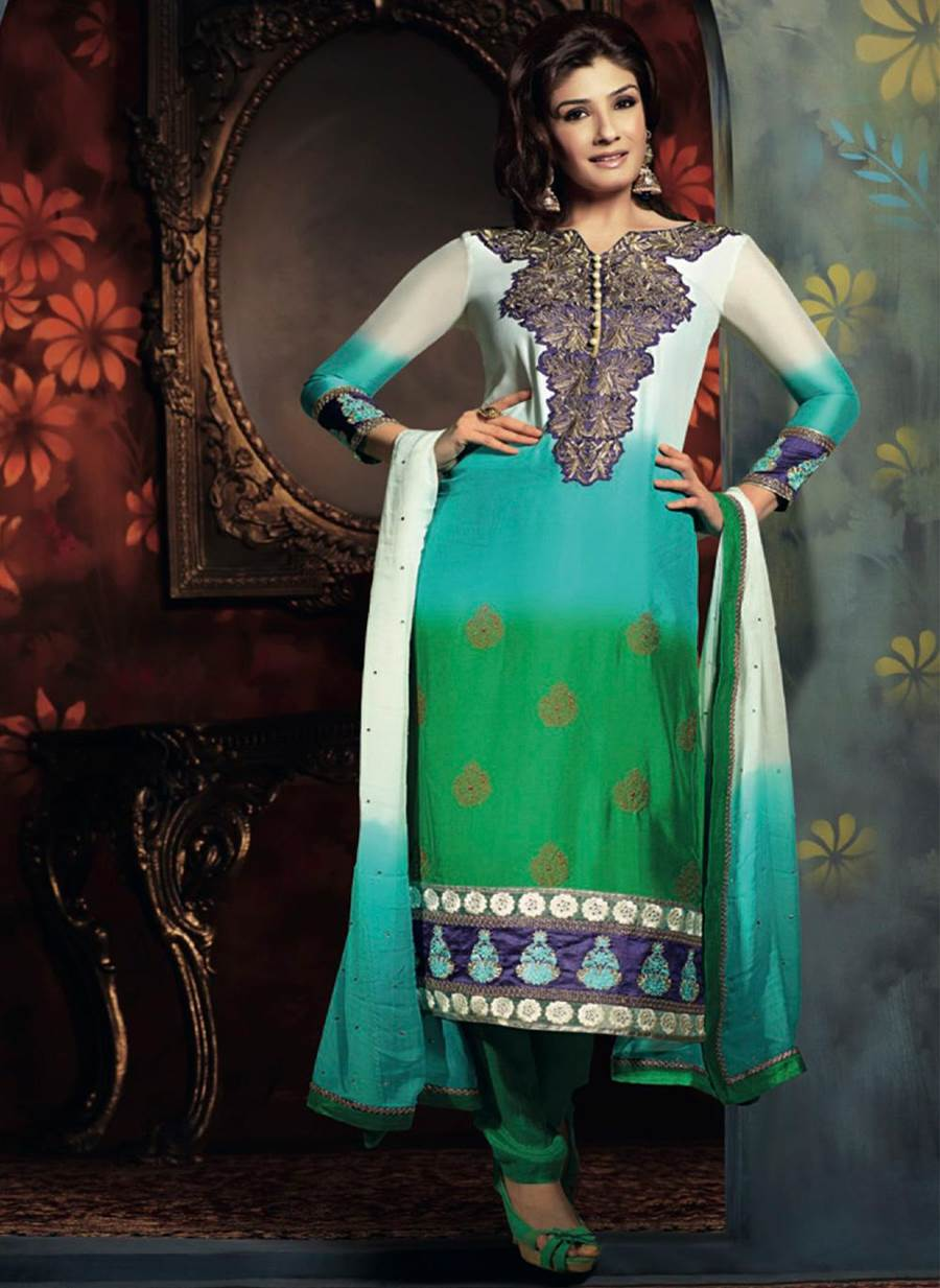 Party Wear Salwar Kameez Collection Ft Raveena Tandon Meraforum Community No 1 Pakistani Forum