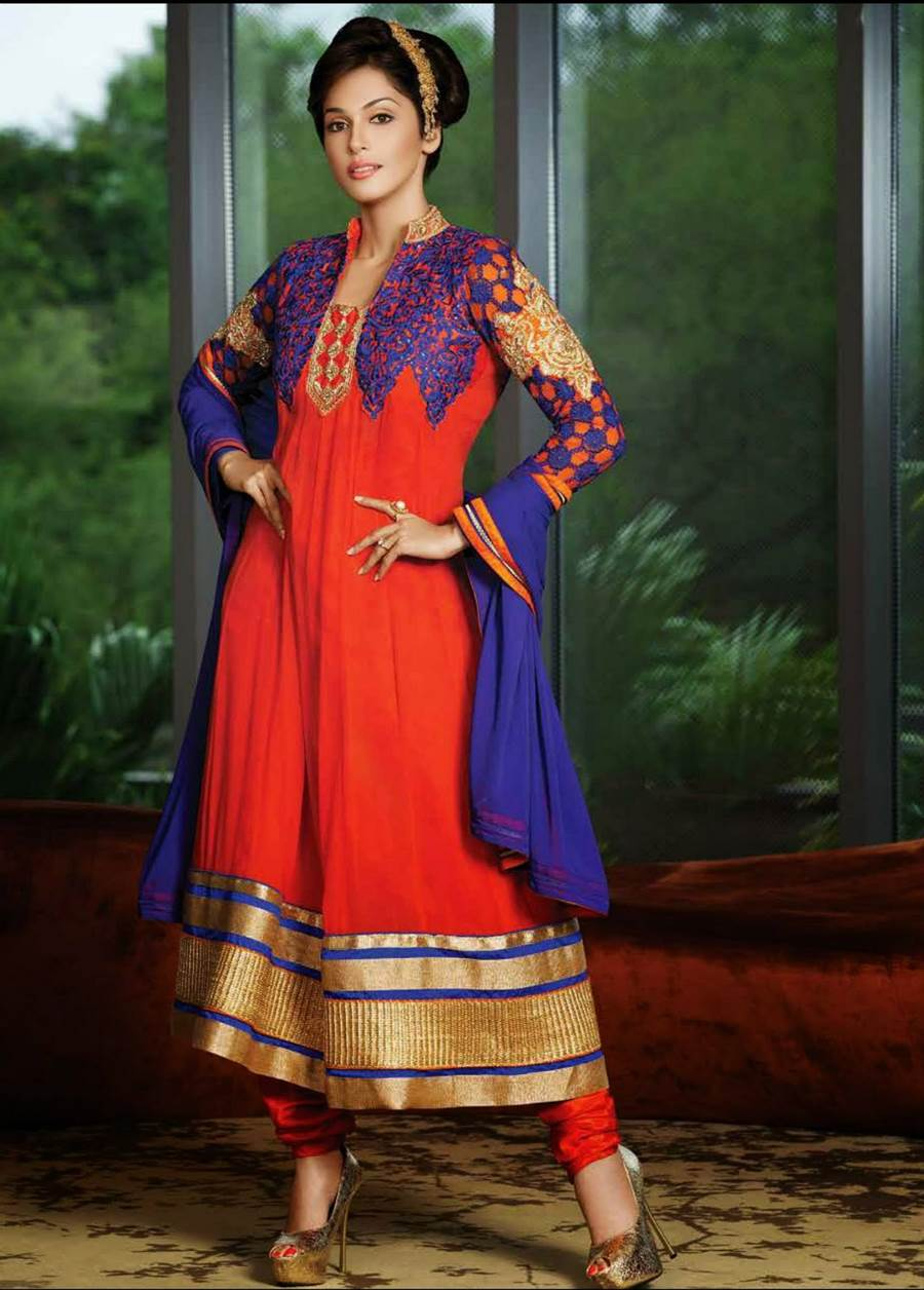 Isha Koppikar Designer Collection  Anarkali Salwar Kameez