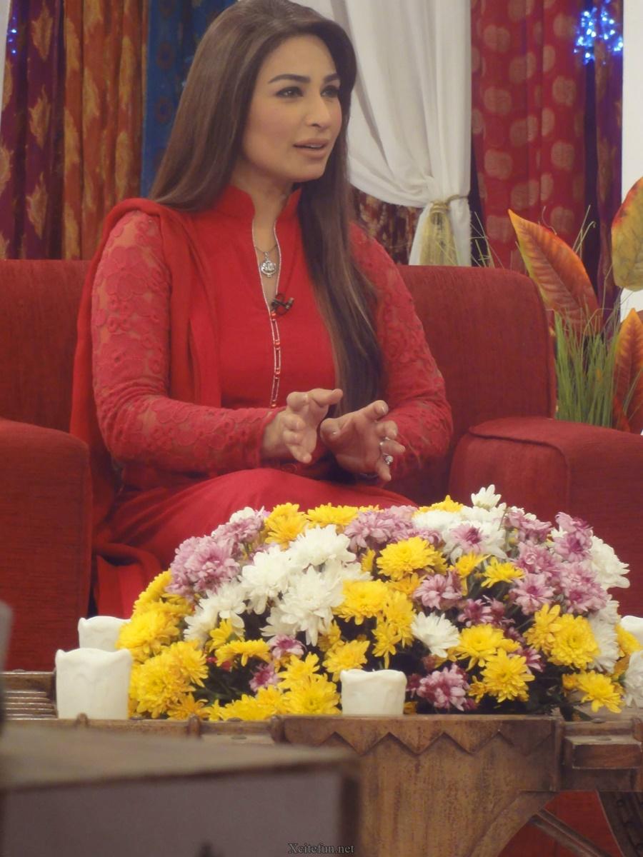 Reema At Good Morning Pakistan Show With Nida - XciteFun.net