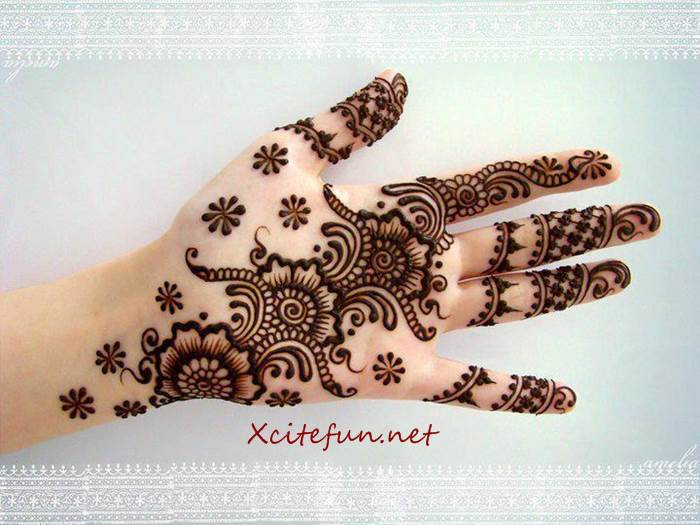 Eid Mehndi Designs Images  Latest Collection