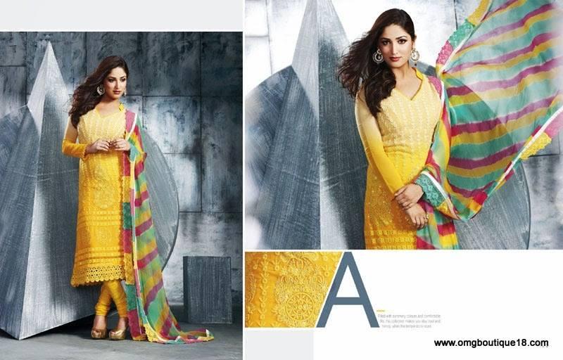 Yami Gautam Designer Suits By Omg Boutique Xcitefun Net
